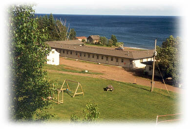 Motel on Lake Superior